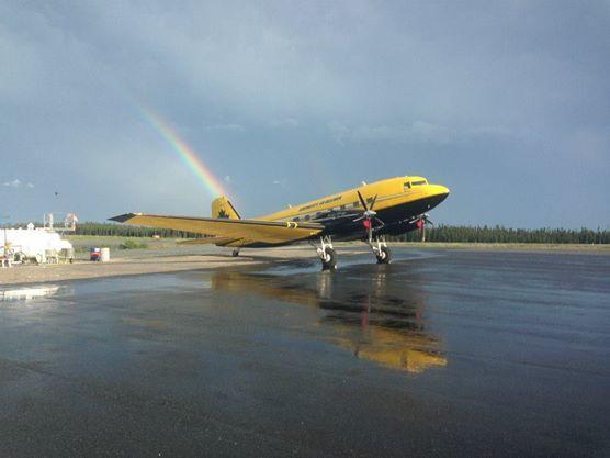 Photo Plane Rainbow