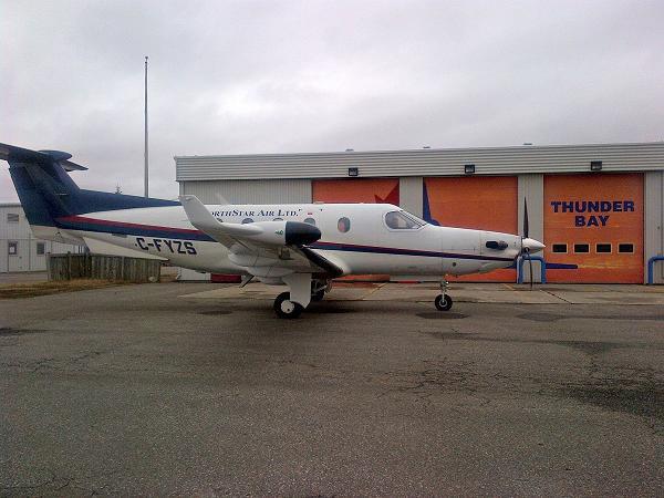 Pilatus PC-12 Aircraft